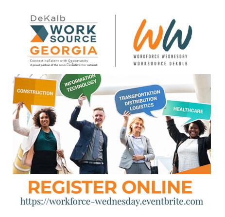 Register Online for WorkForce Wednesday