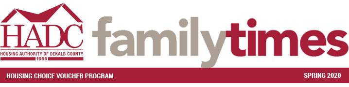 Family Times - Spring 2020