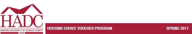 Housing Choice Voucher Program - Spring 2017